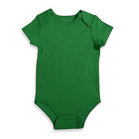 Mayfair Infants Wear Short-Sleeve Bodysuit in Green