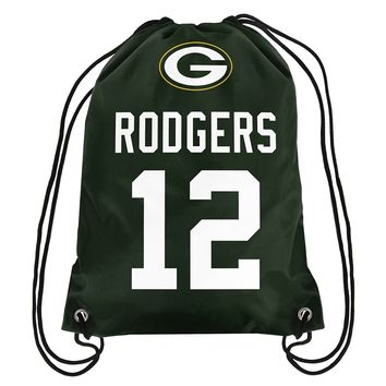 Green Bay Packers Aaron Rodgers Drawstring Backpack