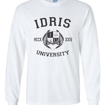 Idris University Shadowhunters Longsleeve Men Tshirt