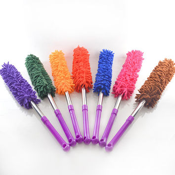 1 pc Retractable Chenille Feather Duster