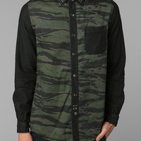 Urban Outfitters - The Narrows Studded Military Button-Down Shirt