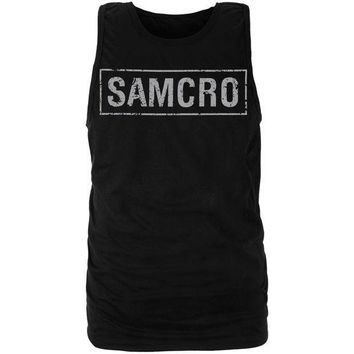 PEAPGQ9 Sons of Anarchy - SAMCRO Tank Top