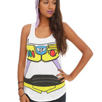 Disney Toy Story Buzz Lightyear Girls Hooded Tank Top