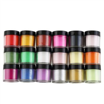 18pcs Nail Dip Powder