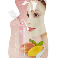 FOREVER 21 Mango Face Mask White One