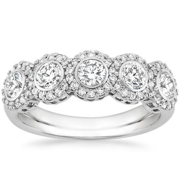 18K White Gold Quintessa Diamond Ring (1 ct. tw.)