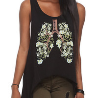 Blossom Lung Girls Tank Top