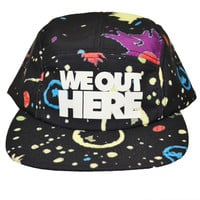 We Out Here Hat- Glow in the Dark