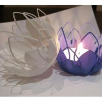 Tea-light - Flower