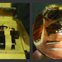 RARE FIND 7 piece Tortoise Shell Collar Manicure set for Him or Her/ Vintage Celluloid manicure setBakelite Manicure set/faux tortoise shell