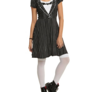 The Nightmare Before Christmas Jack Skellington Costume Dress