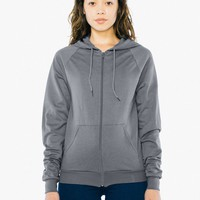 Unisex California Fleece Zip Hoodie | American Apparel