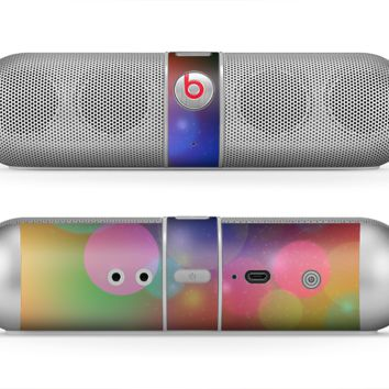 The Unfocused Color Rainbow Bubbles Skin for the Beats by Dre Pill Bluetooth Speaker