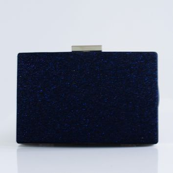 All Sparkle Hardcase Clutch