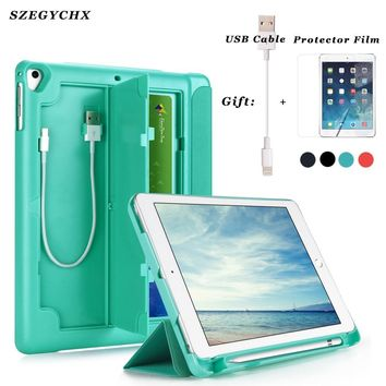 Case with Pencil Holder For New iPad 9.7 inch 2