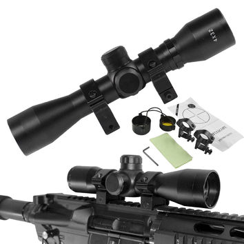 4x32 Tactical Rifle Optical Scope Hunting Optics Crosshair Riflescope Gun Scope