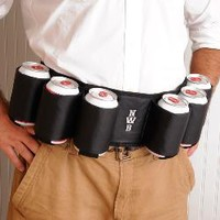 Personalized Bachelor Party Beer Belt