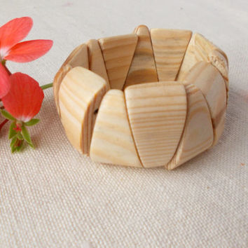 Natural Juniper Wooden Bracelet, Flexible Juniper Wood Bracelet, Wooden Jewelry,Elegant Bracelet,Unfinished Bangle,Craft Supply,Gift for Her