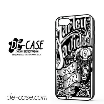 Harley Davidson Art Sign DEAL-5042 Apple Phonecase Cover For Iphone 5 / Iphone 5S