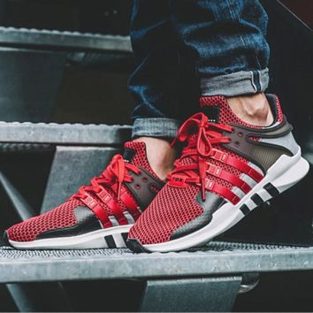 "Fashion ""Adidas"" Equipment EQT Support Boost Casual Sports Shoes red-black H-AA-SDDSL-KHZHXMKH"