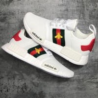 DCCKIJG Adidas Gucci NMD BEE Trending Fashion Casual Sports Shoes