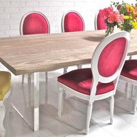 www.roomservicestore.com - Man-Made Machiche Dining Table