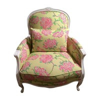 Pre-owned Lilly Pulitzer Upholstered Accent Chair