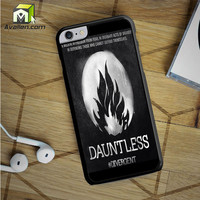 Divergent Dauntless The Brave Logo iPhone 6S Plus Case by Avallen