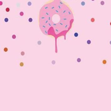 Pink Playful Donut With Sprinkles Printed Backdrop - Rebate Eligible - R4653