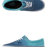 - MENS ERA OMBRE SHOES BY VANS IN BLUE TEAL