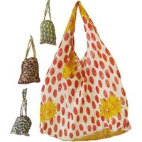 Fair Trade Recycled Sari Tote Bag - Each one is unique!