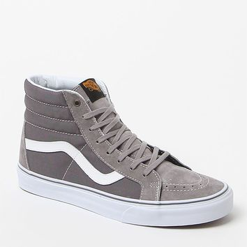 Vans Sk-8 Hi Reissue Surplus Sneakers - Mens Shoes - Frost Grey