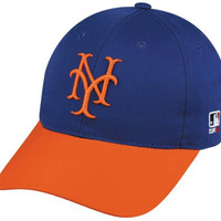 New York Mets ADULT Cooperstown Collection Officially Licensed MLB Baseball Cap/Hat