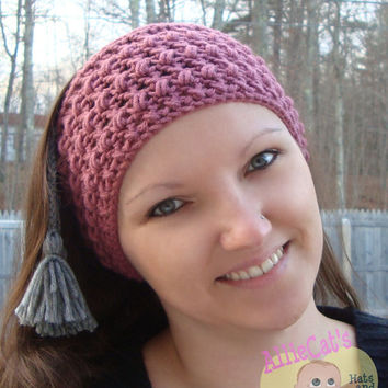 My Fair Lady Ear Warmer- Crochet Pattern **Instant Download**