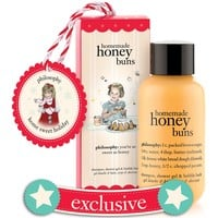 homemade honey buns | shampoo, shower gel & bubble bath ornament | philosophy stocking stuffers