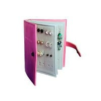 Pink - The Little Book of Earrings - Earring storage solution: Amazon.co.uk: Kitchen  Home: Not a Jewellery box