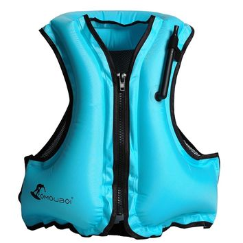 Life Jacket Adult Inflatable Swim Vest Life Jacket Snorkeling Floating Swimming Surfing Water Sports Life Saving Jacket