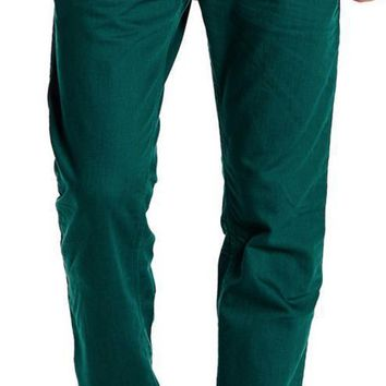New with Tags - Diesel Darron Leaf Green Straight Leg Men's Jeans