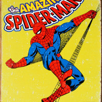 Spider-Man Tin Sign at AllPosters.com