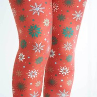 Christmas Time Is Here Print Legging