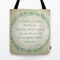 Ardently Tote Bag by Mockingbird Avenue
