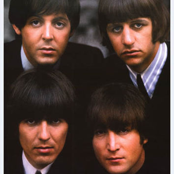 The Beatles Four Lads from Liverpool Poster 24x33