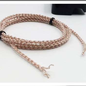 Copper silver alloy music ribbon Wiston 28 core 7N single crystal grain copper occ 4 shares preparation diy headphone cable 6M
