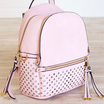 Spread Your Wings Backpack - Blush