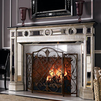 Mirrored Mantel - Horchow