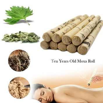 10pcs/box TCM High-grade Old Moxa Roll - Top Quality Healing