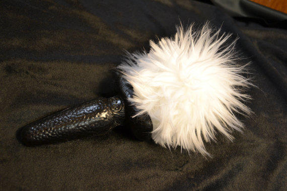 Jenny Landis Furry Bunny Tail Butt Plug - From Ctoutlet On -1173