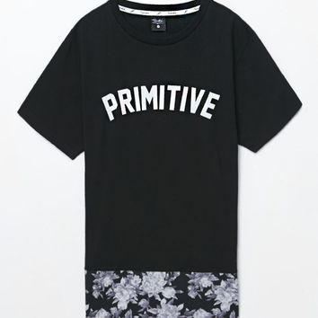 Primitive Apparel Bloom T-Shirt - Mens Tee - Black