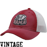 Nike Alabama Crimson Tide Youth Crimson Washed Trucker Flex Hat - http://www.shareasale.com/m-pr.cfm?merchantID=7124&userID=1042934&productID=486895166 / Alabama Crimson Tide