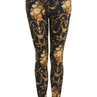 Baroque Print Legging - View All